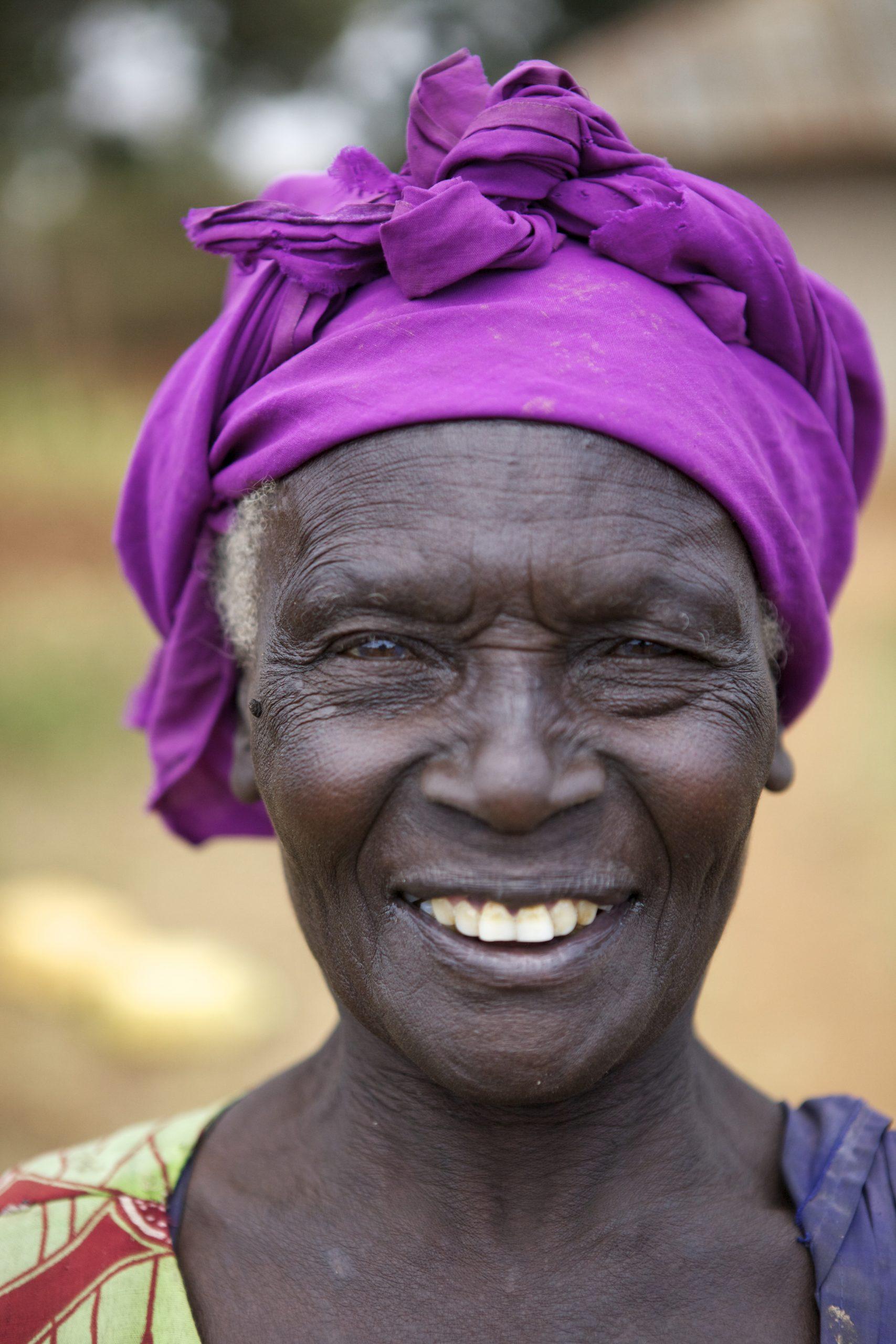 (c) Frederic Courbet/HelpAge International 2012Mama BrigitaSouth AlegoAround 64 years old